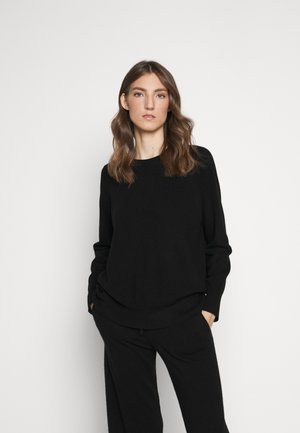 THE SLOUCHY - Jersey de punto - black