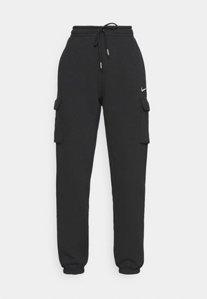 CARGO PANT LOOSE - Trainingsbroek - black