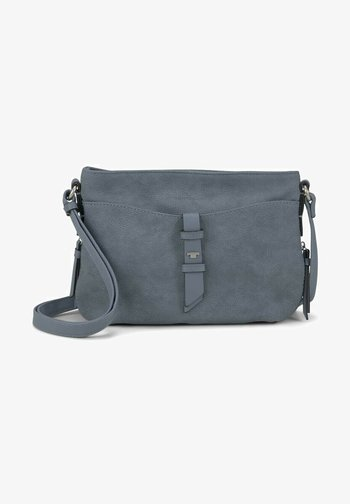 Across body bag - mid blue