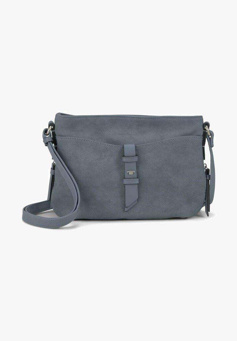 TOM TAILOR - Across body bag - mid blue
