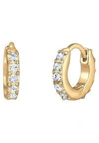 Elli - GLASS CRYSTAL - Earrings - gold - 4