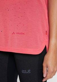 Vaude - TEKOA - Print T-shirt - bright pink - 3