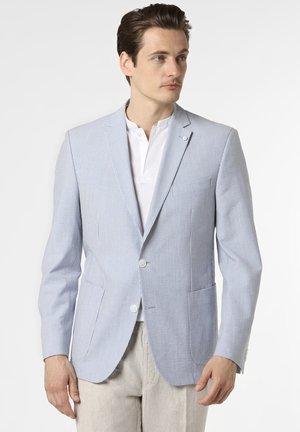 BRAYDEN HL - Blazer jacket - hellblau weiß