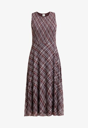 Day dress - deep burgundy