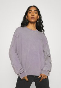 Carhartt WIP - MOSBY SCRIPT - Long sleeved top - provence - 0