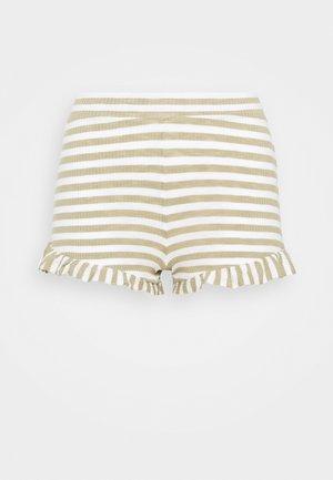 SLEEP RUFFLE BOXER - Pantaloni del pigiama - heather celery stick/sand