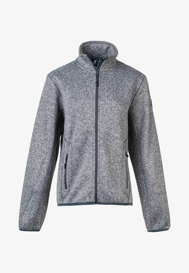 SAMANI W  - Fleece jacket - light grey melange