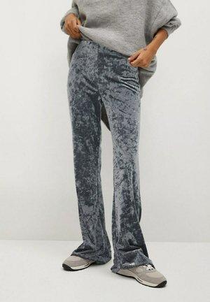 MARTA - Trousers - silber