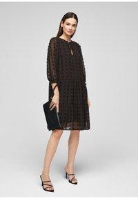 s.Oliver BLACK LABEL - Day dress - black - 1
