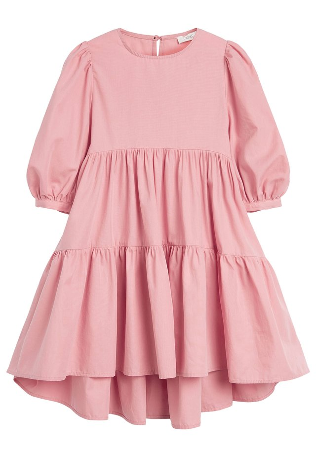PUFF SLEEVE - Day dress - pink