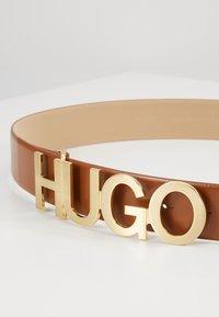 HUGO - ZULA BELT  - Pásek - rust copper - 3