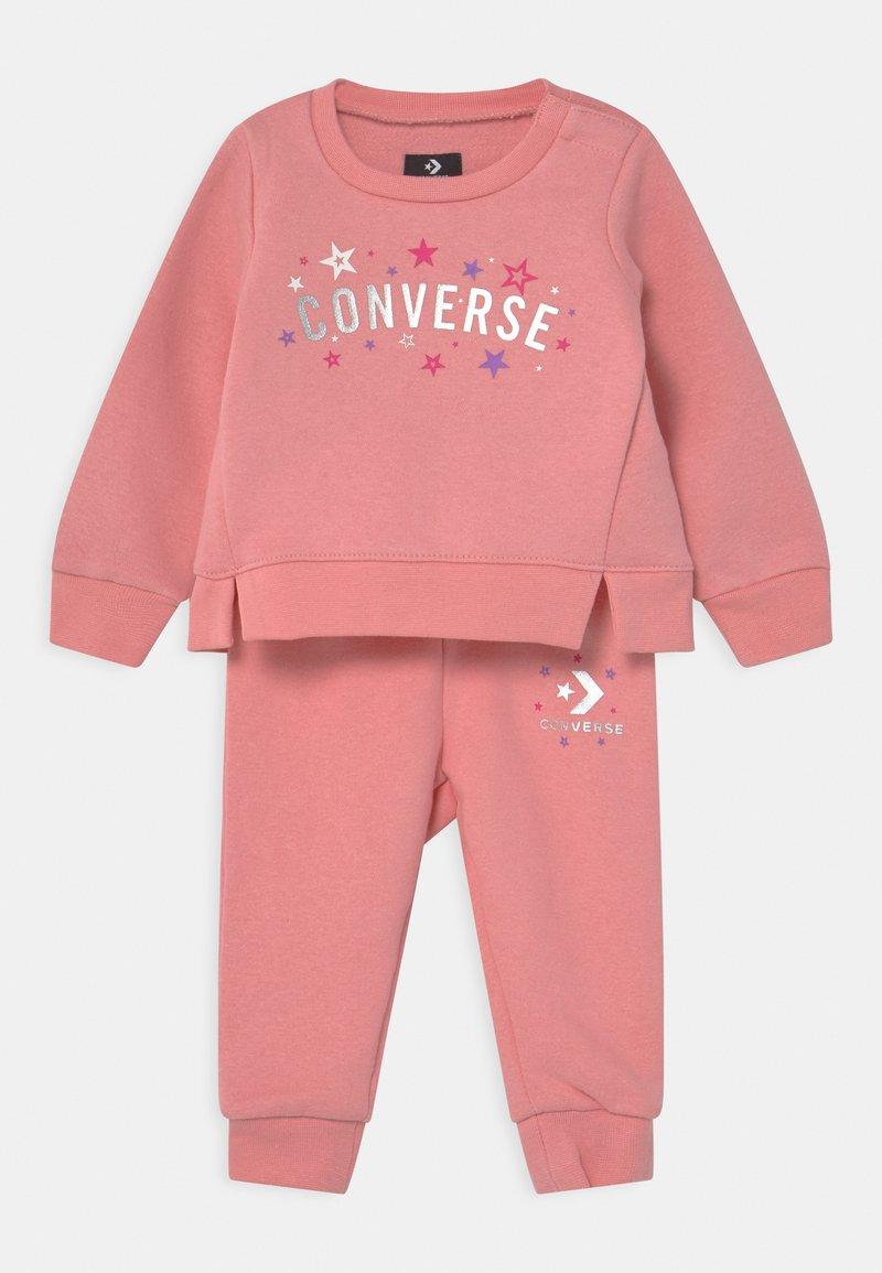 Converse - CORE SET - Tracksuit - coastal pink