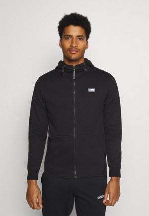 JCOAIR ZIP HOOD - Zip-up hoodie - black