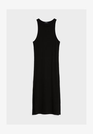 MIT NECKHOLDER  - Jumper dress - black