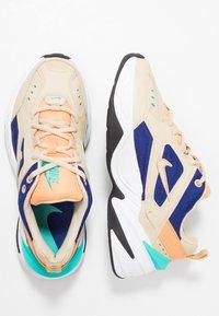 Nike Sportswear - M2K TEKNO - Trainers - desert ore/deep royal blue/fuel orange/hyper jade/black - 3