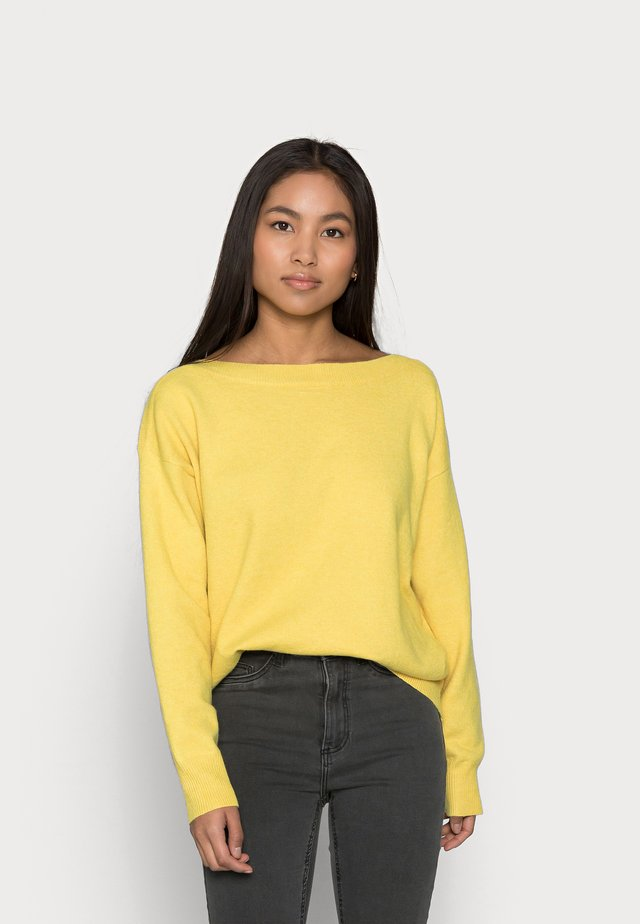 IHALPA - Stickad tröja - super lemon