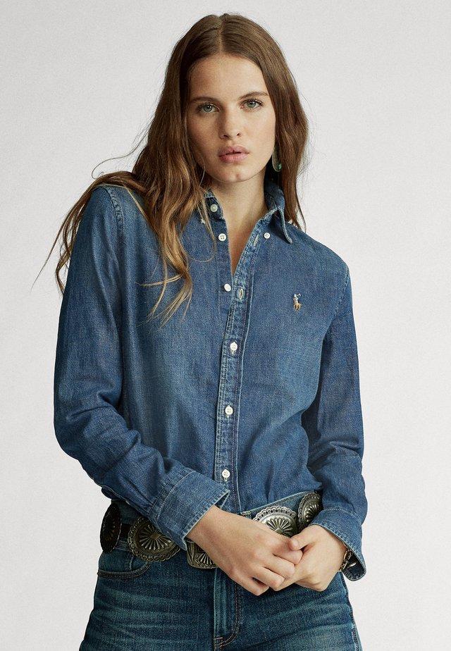 HARPER - Button-down blouse - blaine wash