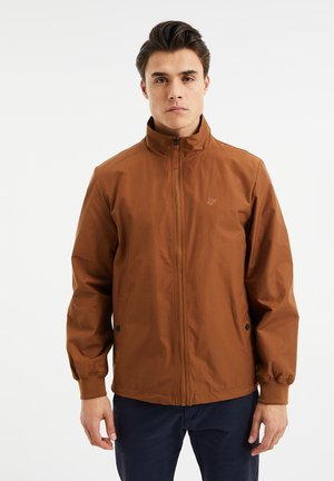 Summer jacket - rust brown