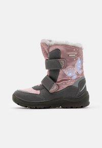 Lurchi - KIMA SYMPATEX - Zimní obuv - grey/pink - 0
