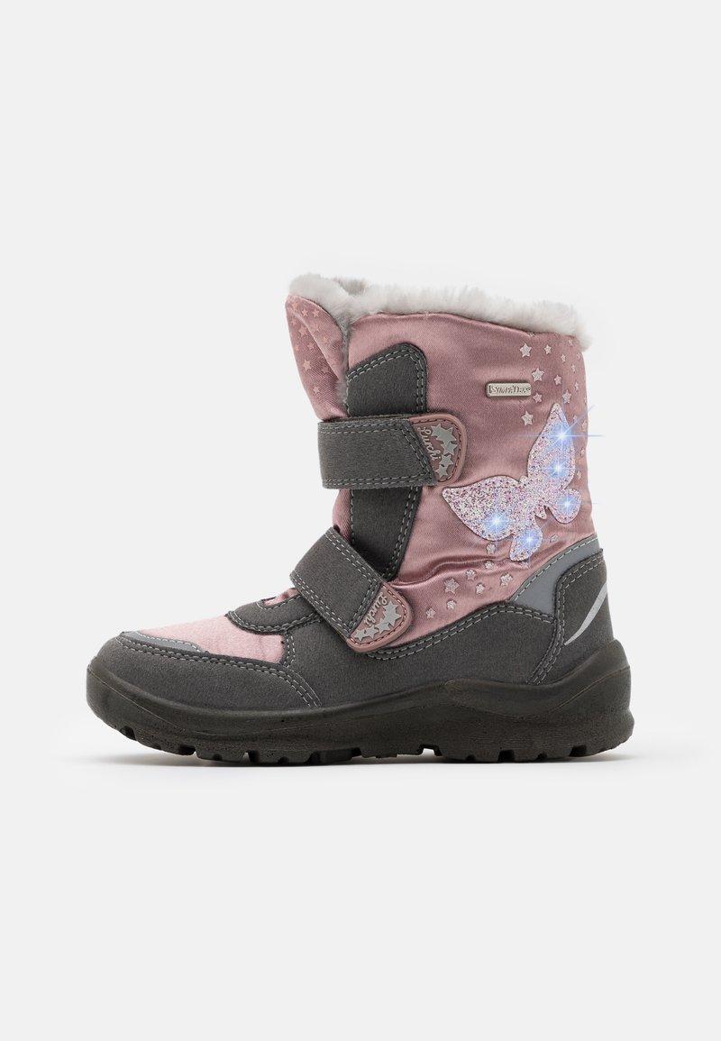 Lurchi - KIMA SYMPATEX - Zimní obuv - grey/pink