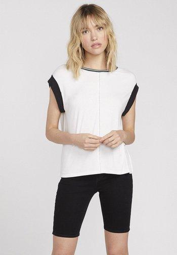 IVOL 2 SS - Print T-shirt - white