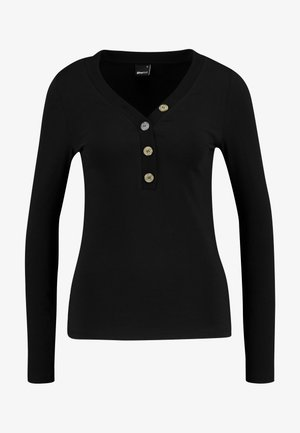 EXCLUSIVE - Long sleeved top - black