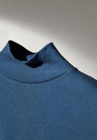 Massimo Dutti - Bluzka z długim rękawem - blue - 6