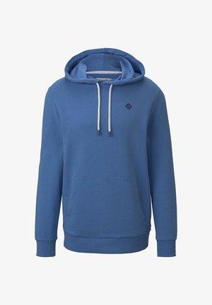 MIT LOGO-PRINT - Hoodie - blue