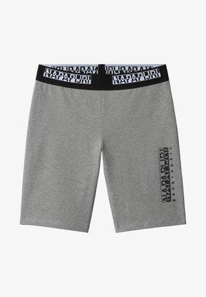 Shorts - medium grey melange