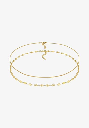 2 PACK CHOKER BASIC - Necklace - gold