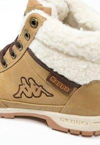 Kappa - BRIGHT  - Zimní obuv - beige/offwhite - 5