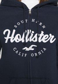 Hollister Co. - TECH CORE - Tröja med dragkedja - navy - 4