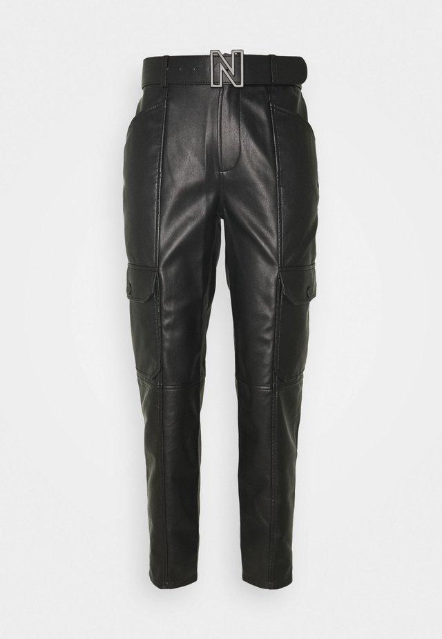 MIKA PANTS - Trousers - black