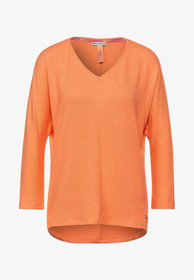 Strickpullover - orange