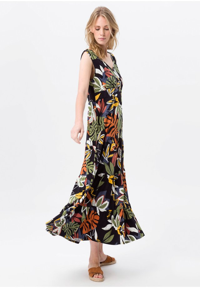 Maxi dress - schwarz/multicolor