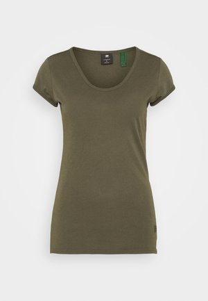 CORE EYBEN SLIM - Basic T-shirt - combat