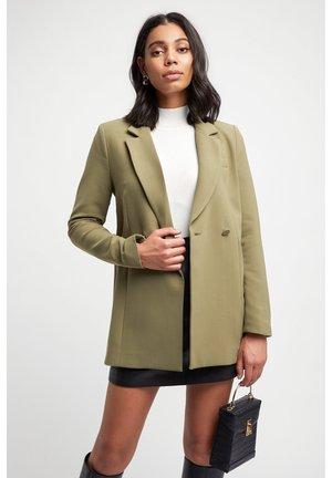 DELTA  - Short coat - olive/olive