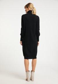 DreiMaster - Jumper dress - schwarz - 2