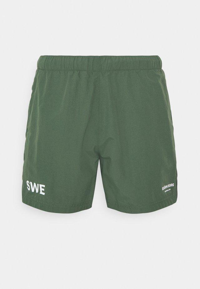 TRAINING - Pantaloncini sportivi - duck green