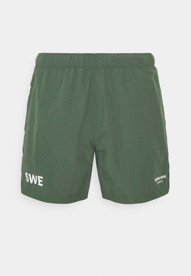 Björn Borg - TRAINING - Sports shorts - duck green