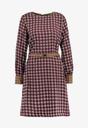 BYJASMIN DRESS - Day dress - carnelian red combi