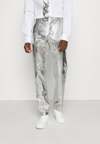 OppoSuits - SHINY SET - Suit - silver - 3