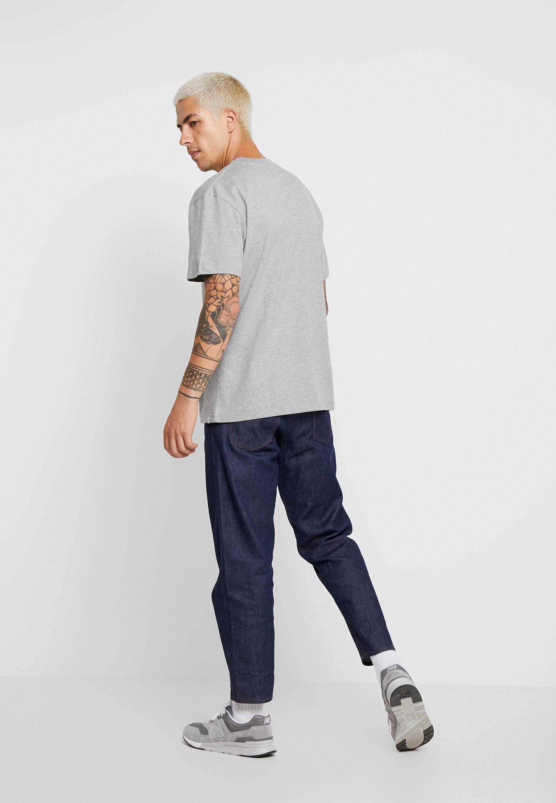 Minimum AARHUS - Basic T-shirt - light grey melange Sjd79