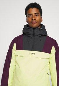 COLOURWEAR - ANORAK - Snowboard jacket - yellow - 3