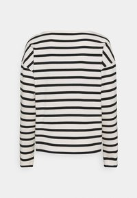 Marc O'Polo - LONG SLEEVE BOAT NECK - Jumper - multi/black - 1