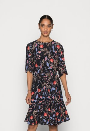SILKY DRESS - Vapaa-ajan mekko - black