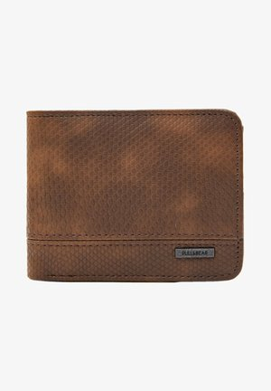 Wallet - mottled brown