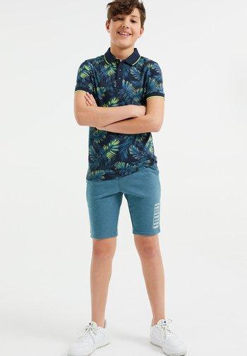 2 PACK - Shorts - black/light blue