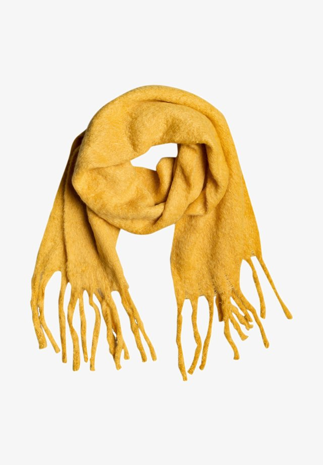HELLO SWEET HEART - Scarf - mineral yellow
