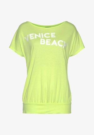 T-shirt basic - limone
